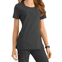 Dickies Xtreme Stretch Mock Wrap Tops