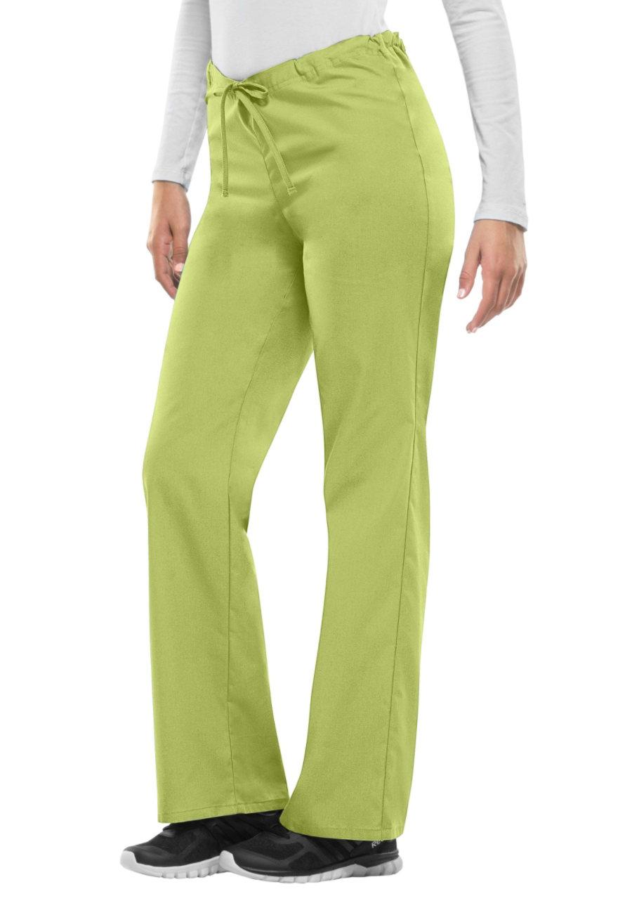 Dickies EDS Signature Unisex Drawstring Scrub Pants green