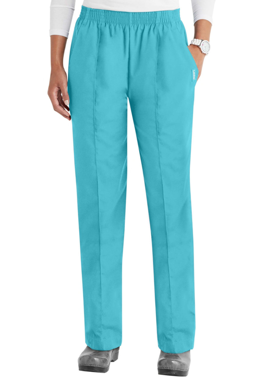Landau Essentials Creased Front Scrub Pants