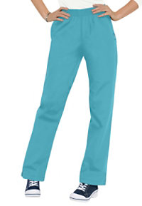 Landau Essentials Classic Relaxed Fit Scrub Pants
