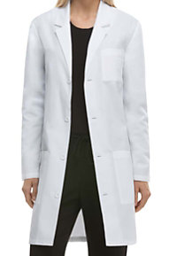 Dickies Unisex Notched Lapel 37 Inch Lab Coats with Certainty