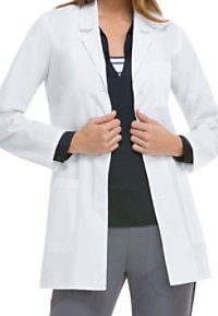 Dickies Notched Lapel 32 Inch Lab Coats With Certainty