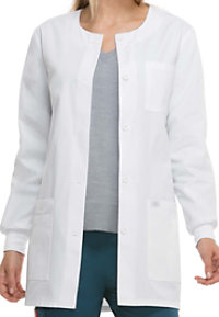 Dickies Collarless 32 Inch Lab Coats