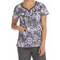 Med Couture MC2 Cosmic Candy Print Tops