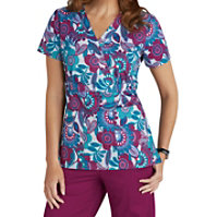 Med Couture Patch Of Petals Print Tops