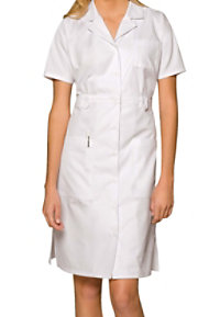 Dickies 38 Inch Button Front Short Sleeve Dress