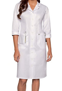 Dickies 40 Inch Button Front 3/4 Sleeve Dress