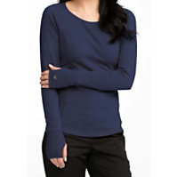 Med Couture Between The Lines Long Sleeve Underscrub
