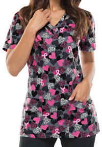 Dickies EDS Signature Dare To Care Print Scrub Tops