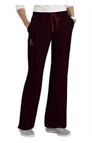 Scrubzone Red Women's Drawstring Pants
