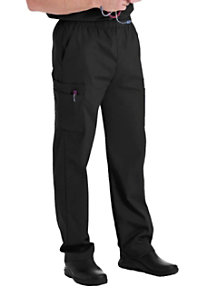 Landau Essentials Men's Cargo Scrub Pants