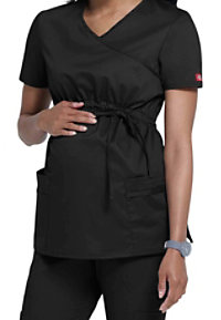 Dickies Gen Flex Youtility Mock-wrap Maternity Scrub Tops