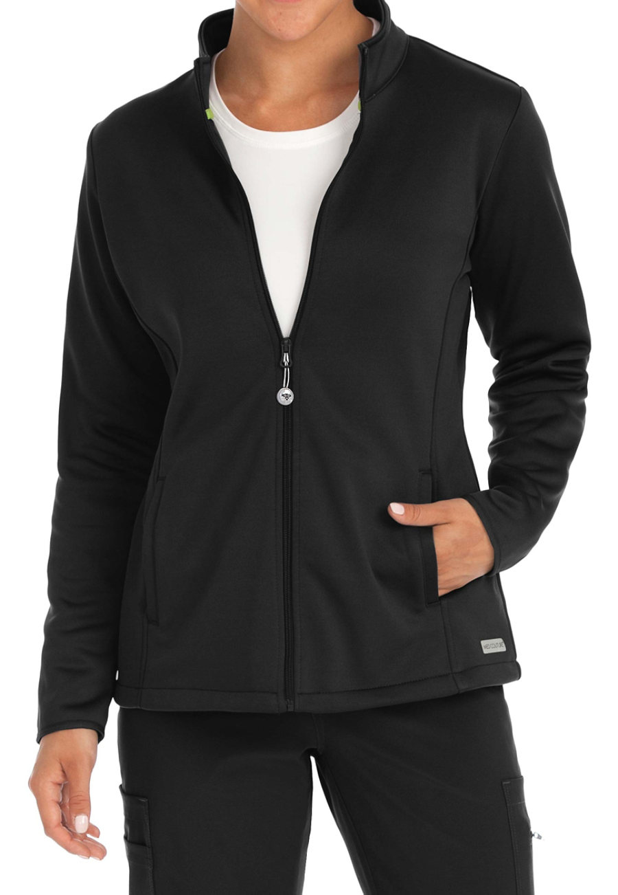 Med Couture Med Tech Full Zip Front Jackets
