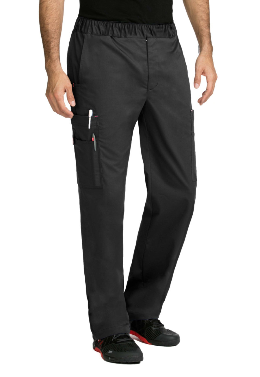 Med Couture MC2 Men's Red Alert Cargo Scrub Pants