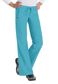 Med Couture Gold Flare-leg Pants