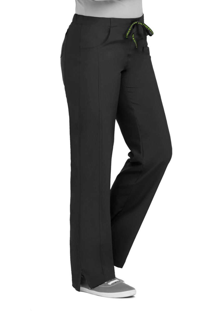 Med Couture Activate Double Shift Back Elastic Waist Scrub Pants