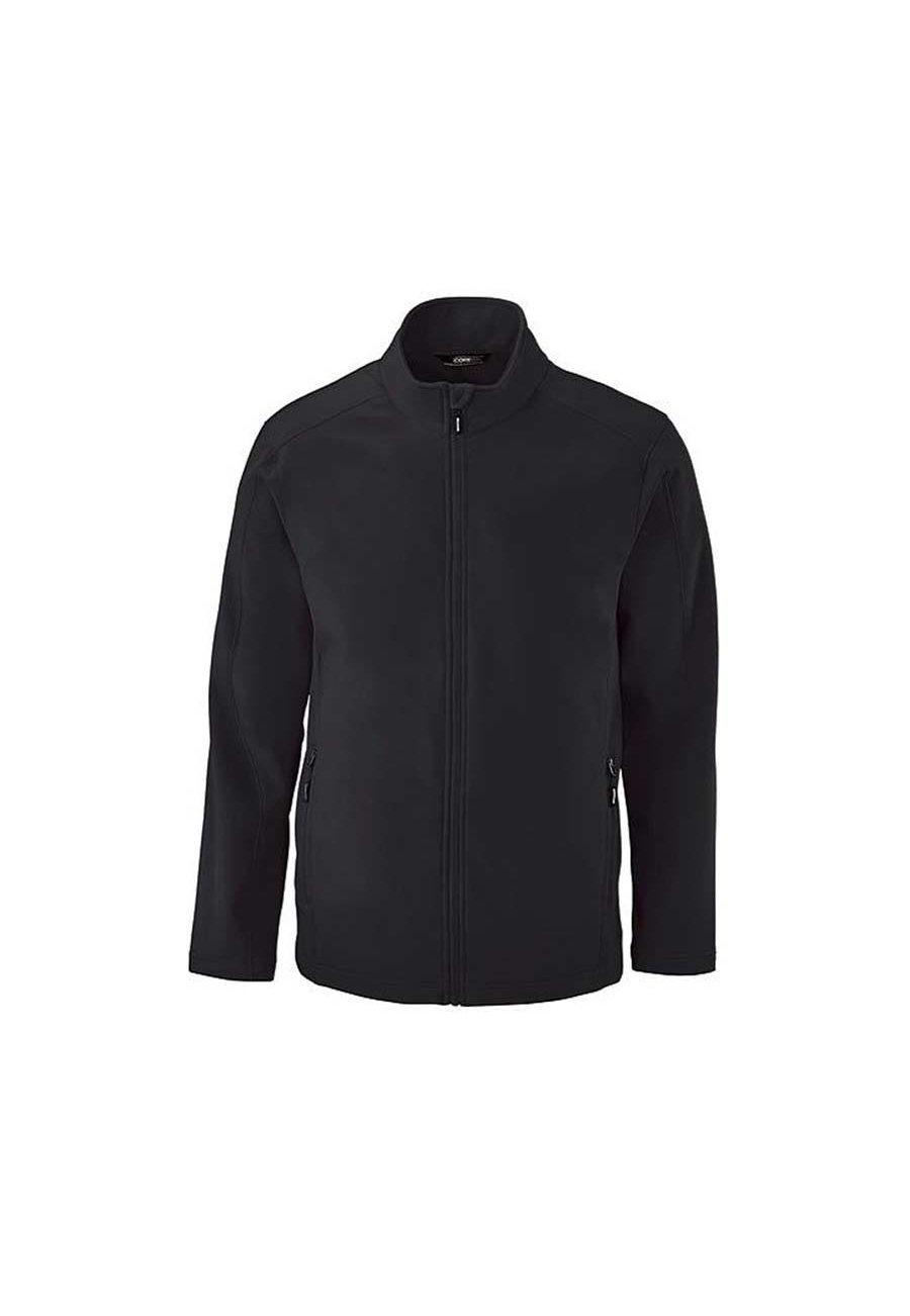 Image of Ash City Core 365 Men's Cruise 2 Layer Fleece Jackets - Black - 2X
