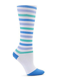 Nurse Mates Striped Compression Trouser Socks