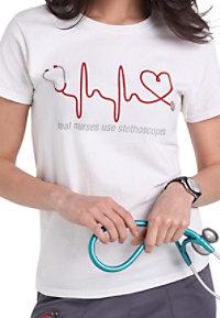 Scrubs And Beyond Real Nurses Short Sleeve Tees