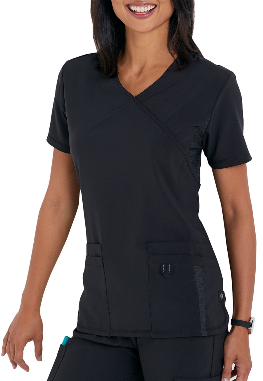 Urbane Performance Quick Cool Crossover Scrub Tops