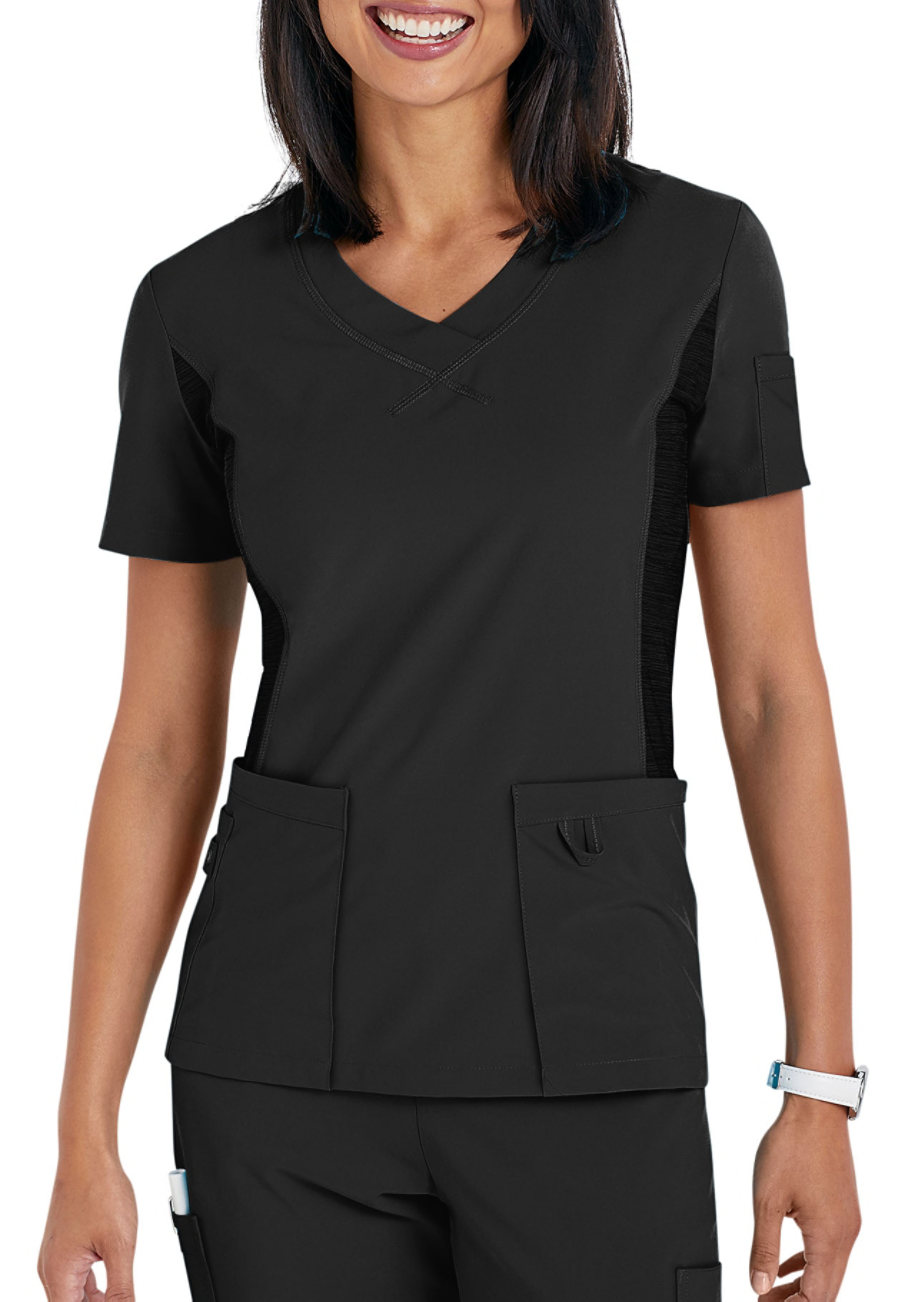 Urbane Performance Quick Cool V-neck Scrub Tops
