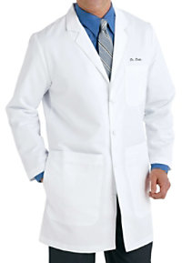 Grey's Anatomy Men's 37 Inch 6 Pocket Lab Coats