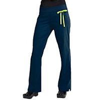 Urbane Essentials Knit Roll-Tops Yoga Stetch Pants