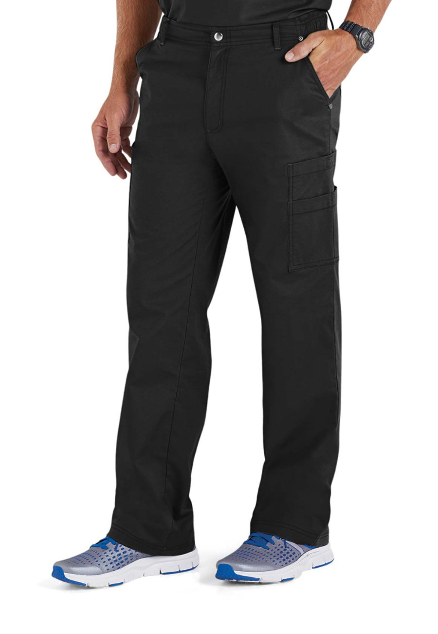 Beyond Scrubs Men's Evan Cargo Scrub Pants