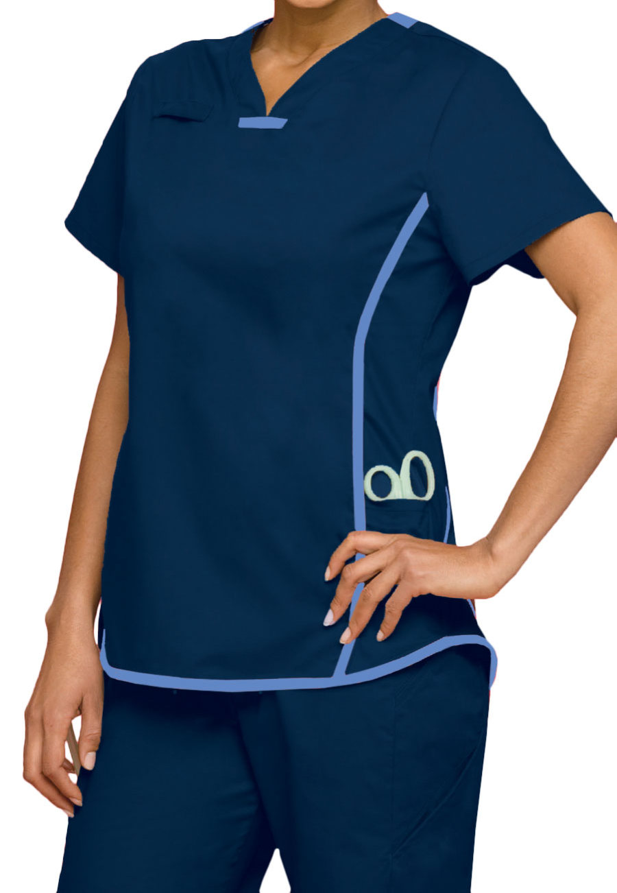 Urbane Athletic Inspired Scrub Tops