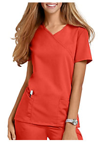 Urbane Ultimate Sophie Mock-wrap Scrub Tops