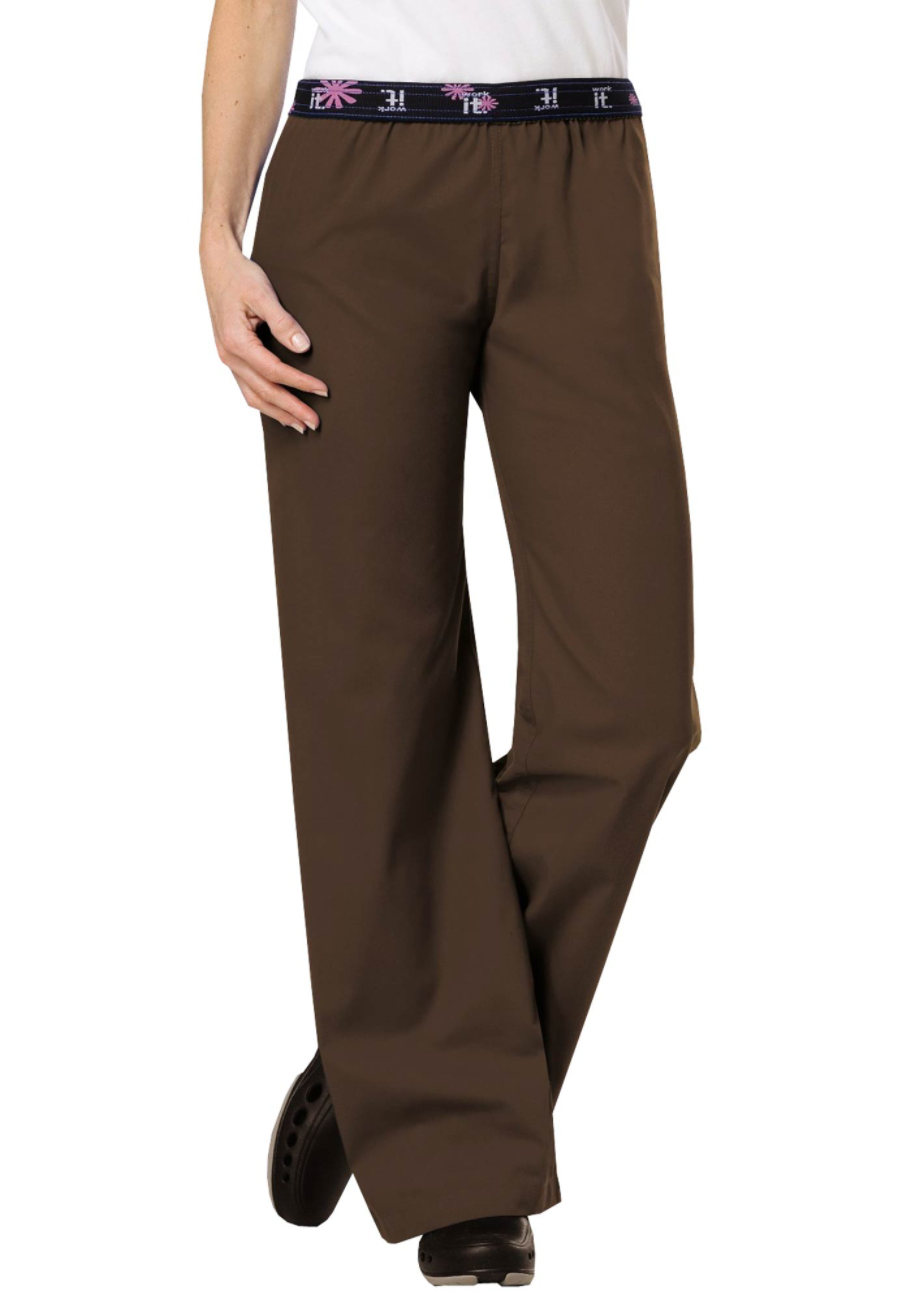 Urbane Work-it Flip Down Scrub Pants