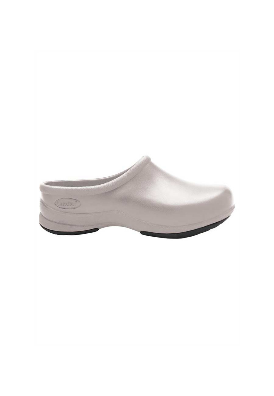 Landau Revive Unisex Nursing Clogs - White - 9 plus size,  plus size fashion plus size appare