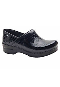 Dansko Professional Tooled Leather Nursing Clogs