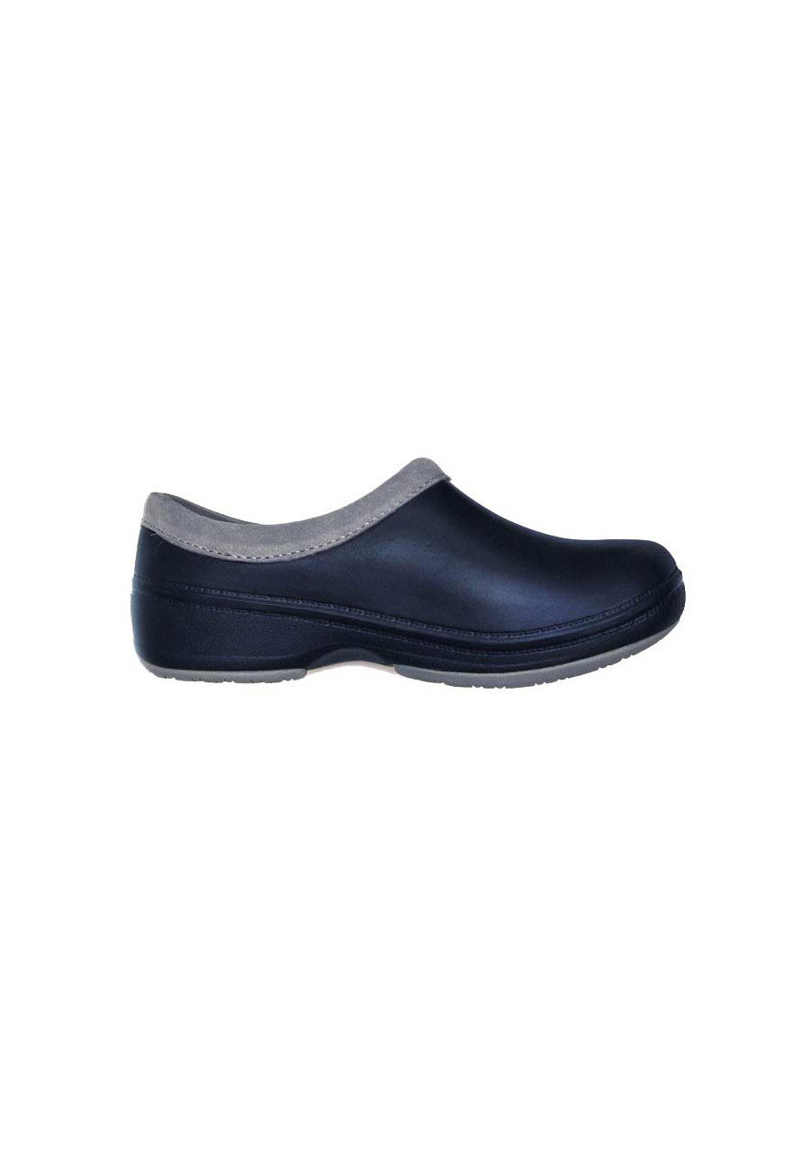 Landau Reneu Slip-on Nursing Shoes - Navy - 6 plus size,  plus size fashion plus size appare
