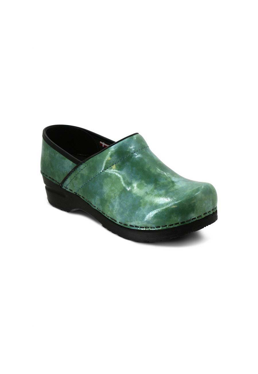 Sanita Professional Ariana Nursing Clogs - Teal - 37 plus size,  plus size fashion plus size appare