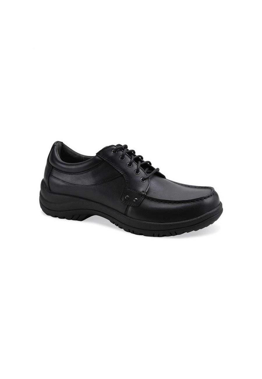 Dansko Wyatt Black Full Grain Leather Nursing Clogs - Black - 42 plus size,  plus size fashion plus size appare