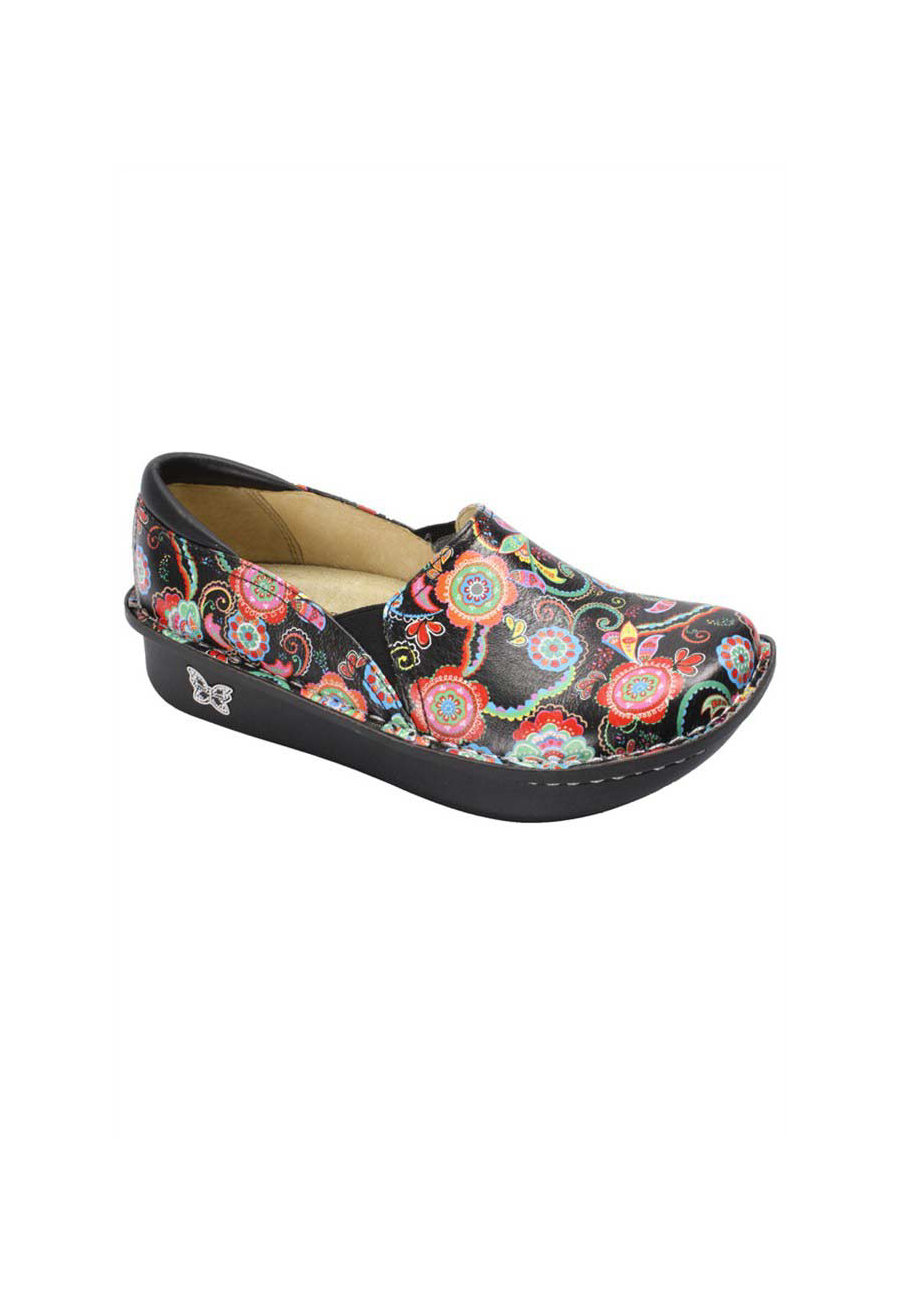 Alegria Debra Paisley Party Nursing Clogs - Paisley Party - 41 plus size,  plus size fashion plus size appare