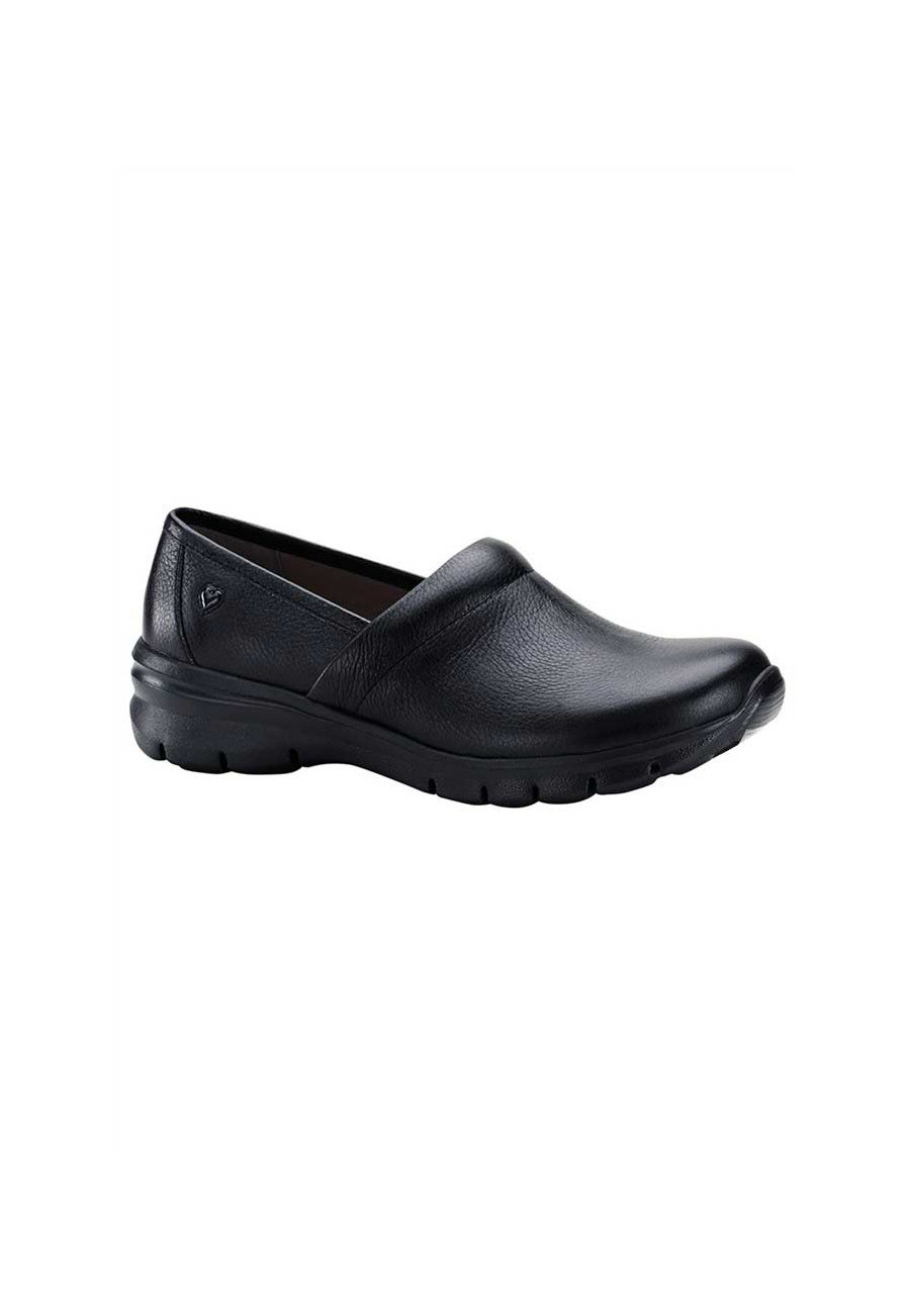 Nurse Mates Libby Slip-Resistant Nursing Clogs - Black - 6 plus size,  plus size fashion plus size appare
