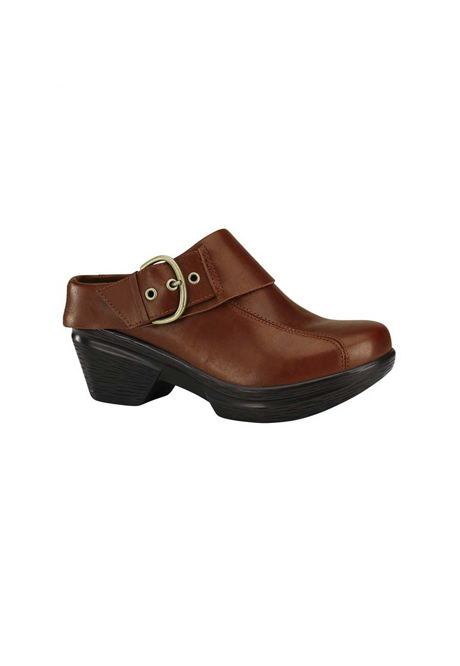 Sanita Sangria Nikita Nursing Clogs - Bordeaux - 36 plus size,  plus size fashion plus size appare