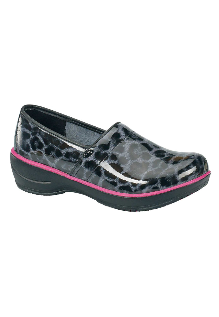 Smitten Wild At Heart Leopard Nursing Clogs