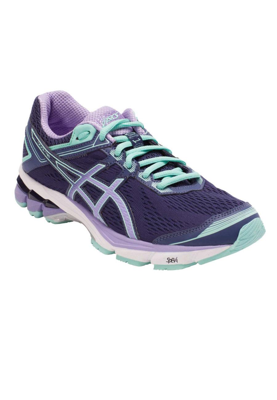 Asics Women's Athletic Shoes - Midnight/Violet/Beach Glass - 7 plus size,  plus size fashion plus size appare