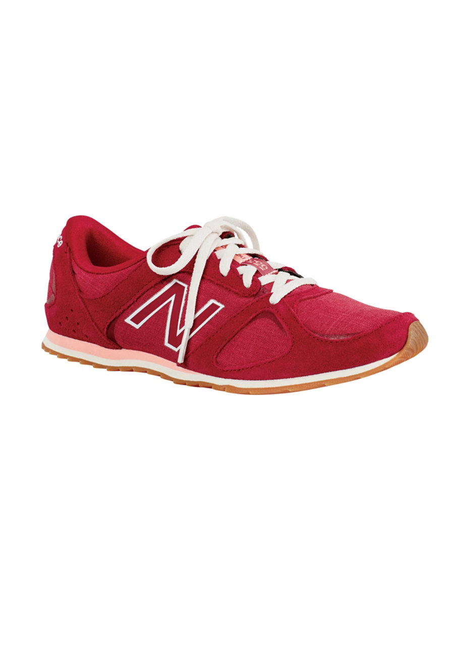 New Balance Women's Athletic Shoes - Red/Horizon - 8