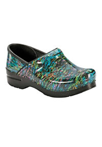 Dansko Professional Highlighter Patent Nursing Clogs