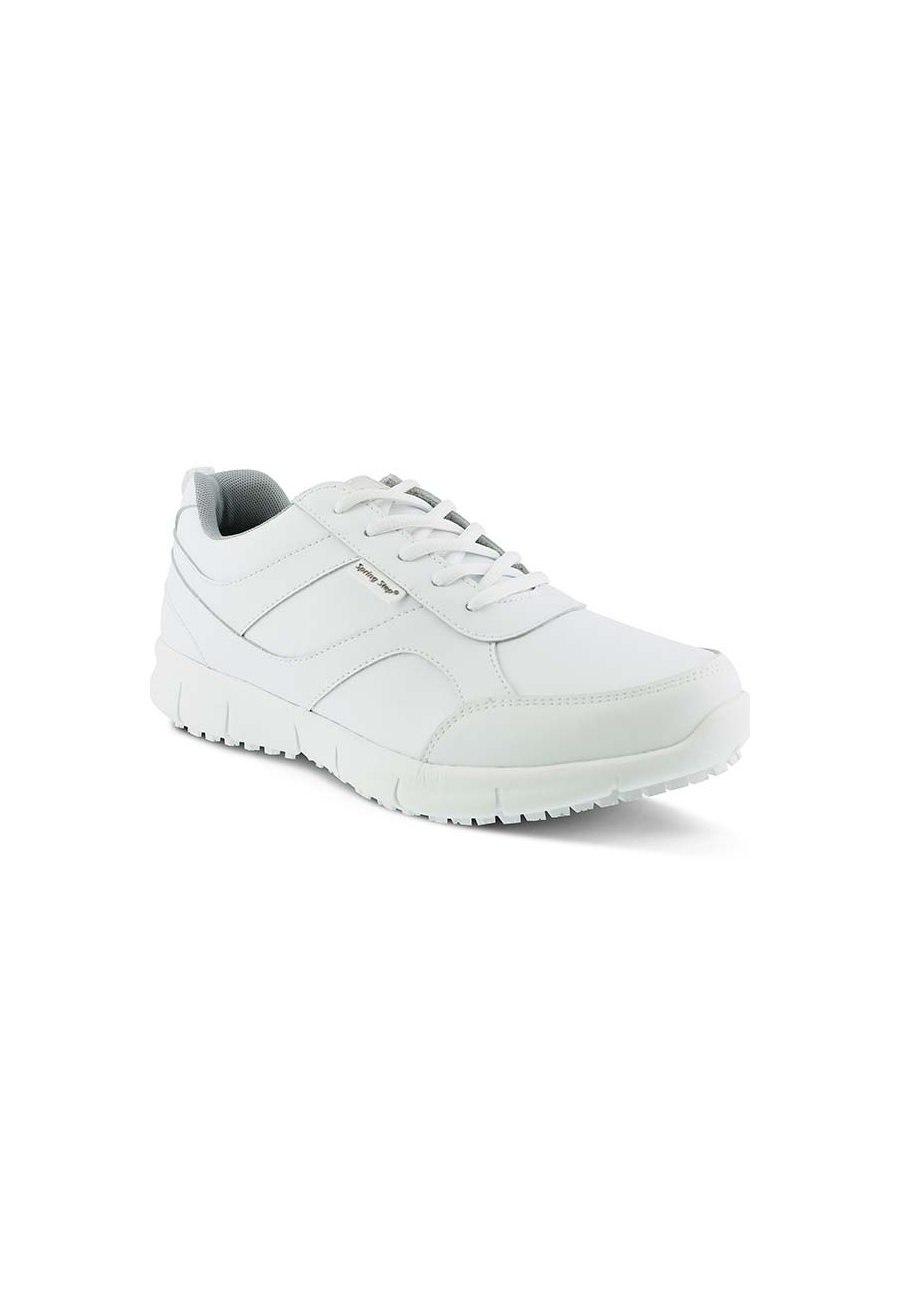 Spring Step Ramon Mens Leather Athletic Shoes - White - 41