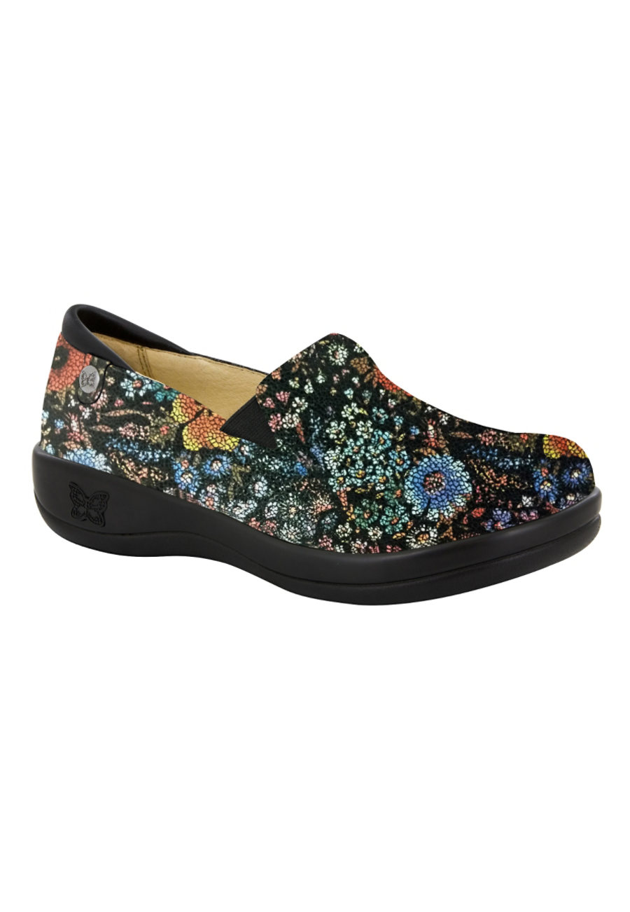 Alegria Keli Pro Midnight Garden Nursing Clogs - Moonlight Garden