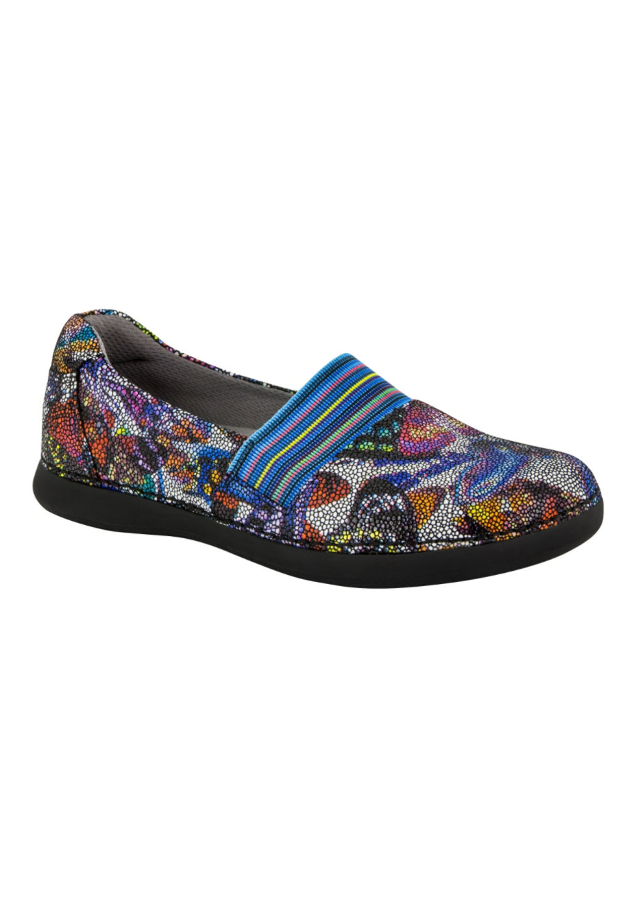 Alegria Glee Monarch Slip On Nursing Shoes - Monarch