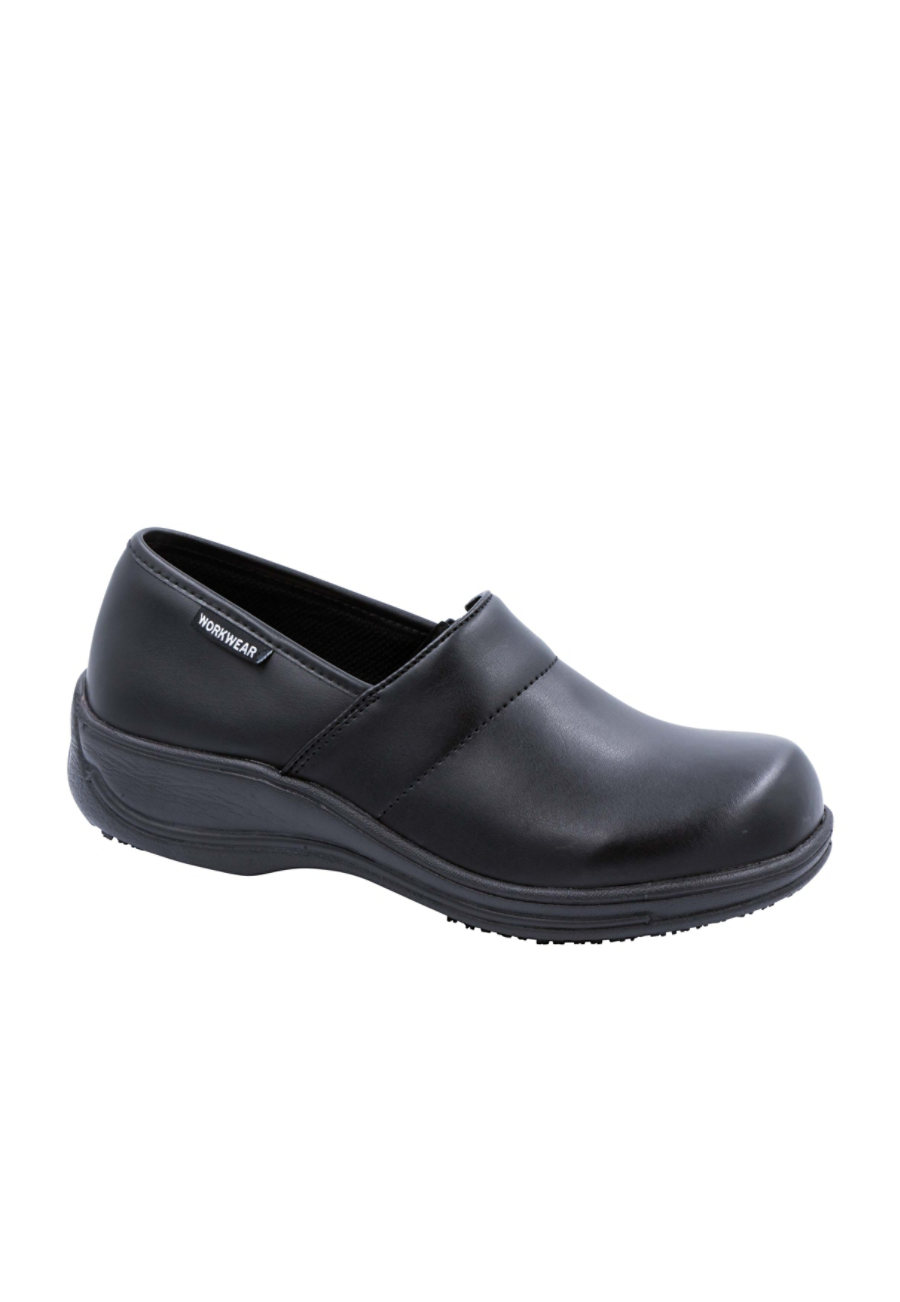 Cherokee Workwear Nola Slip-on Nursing Shoes Leather