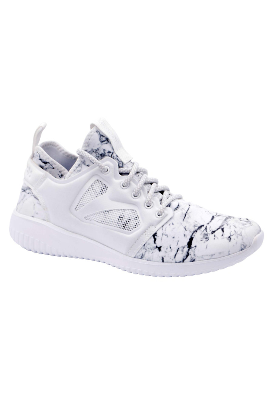 Reebok Evolution Women's Athletic Shoes - White/Steel/RoseGold - 10