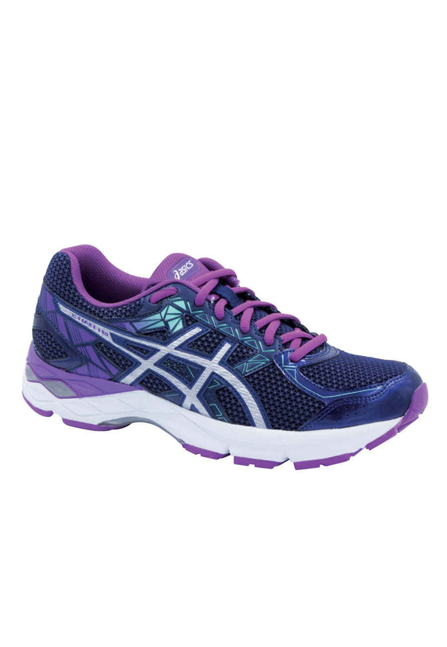 Asics  Exalt3 Women's Athletic Shoes - Indg Blue/Slvr/Orchd - 7