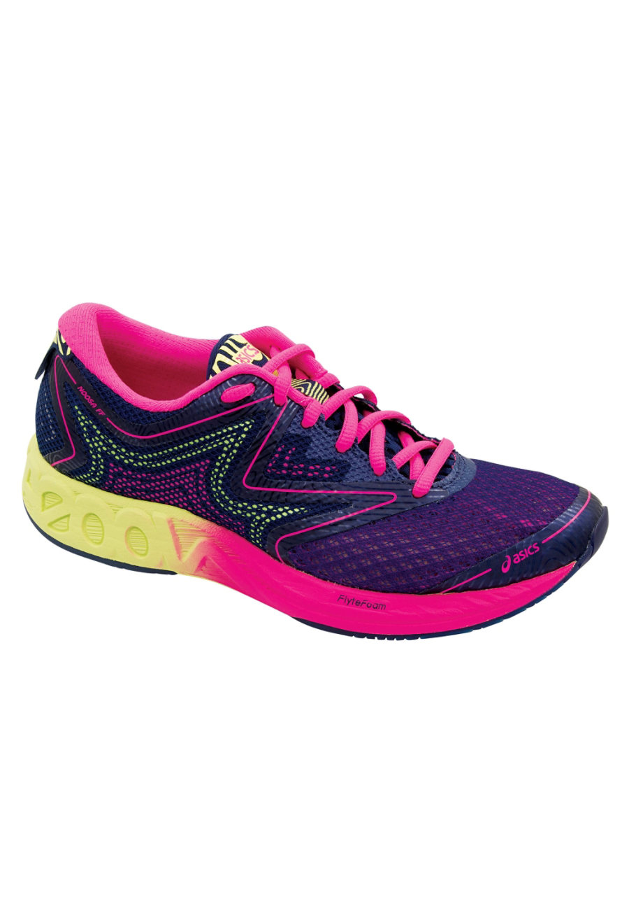 Image of Asics Noosa Women's Sneakers - Indigo Blue/Hot Pink - 7